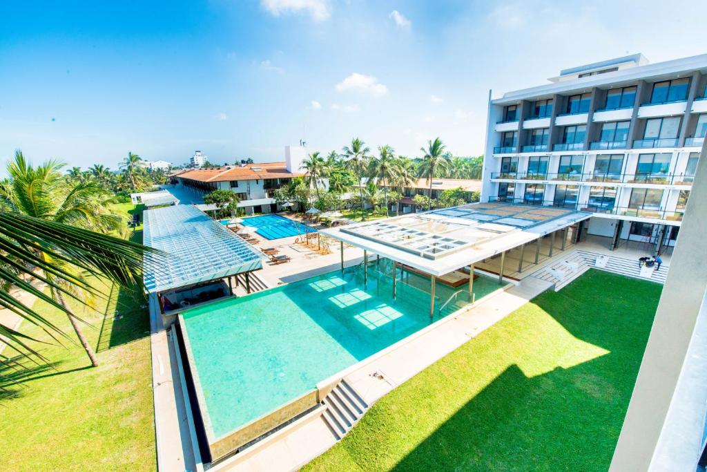 A view of the pool at Goldi Sands Hotel or nearby