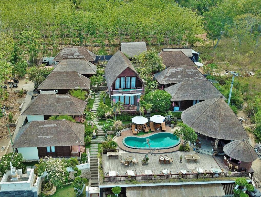 Blick auf Ocean Terrace Suite And Spa Luxury aus der Vogelperspektive
