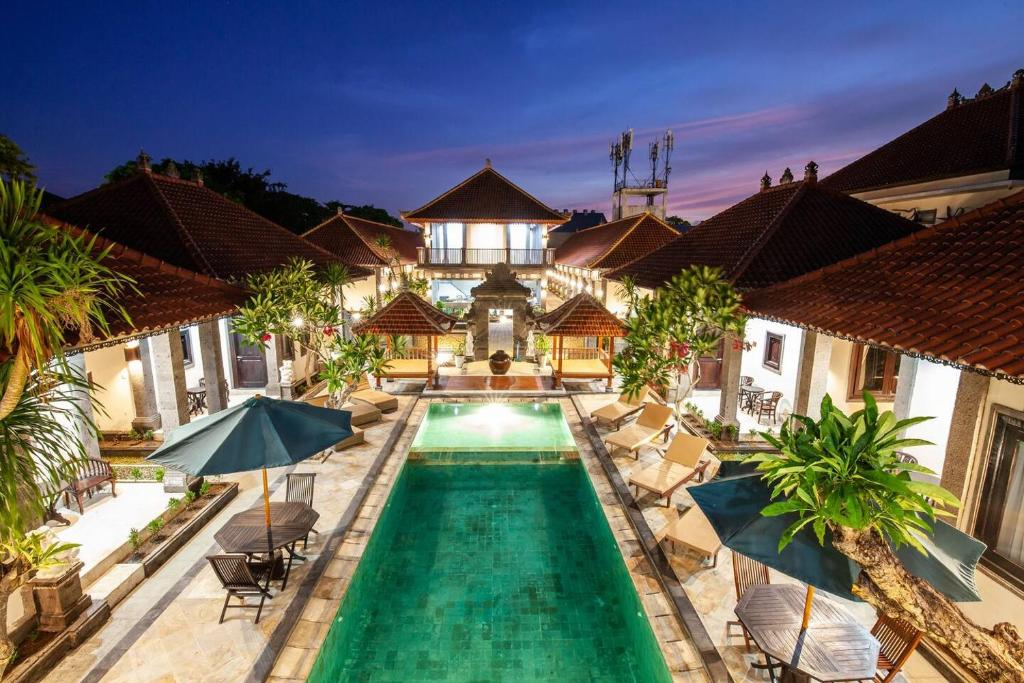 A view of the pool at Grand Yuma Bali Hotel and Villa or nearby
