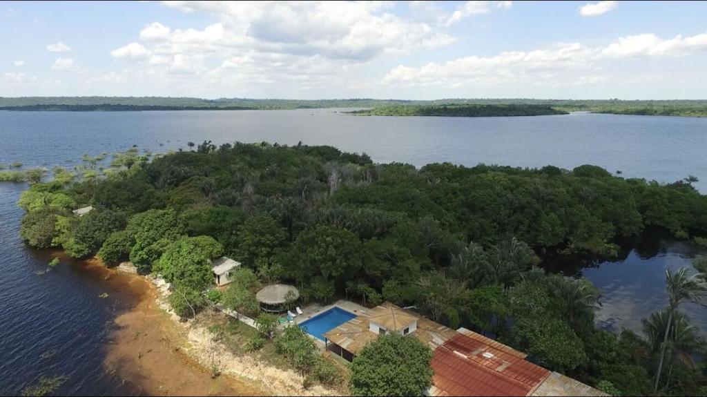 A bird's-eye view of Anaconda Amazon Resort