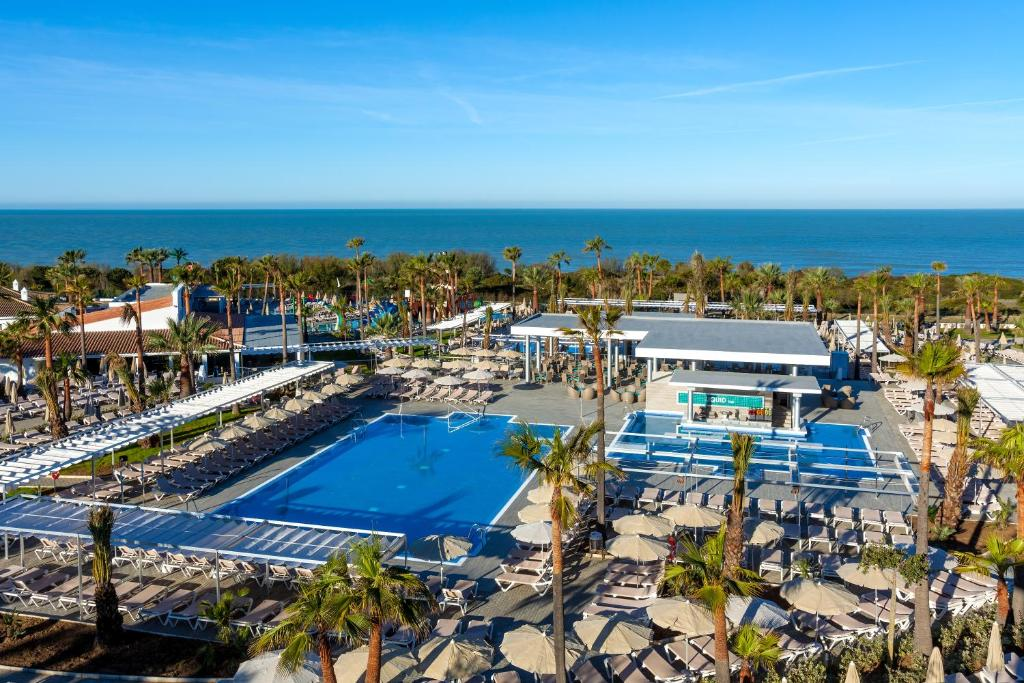 A view of the pool at Hotel Riu Chiclana - All Inclusive or nearby