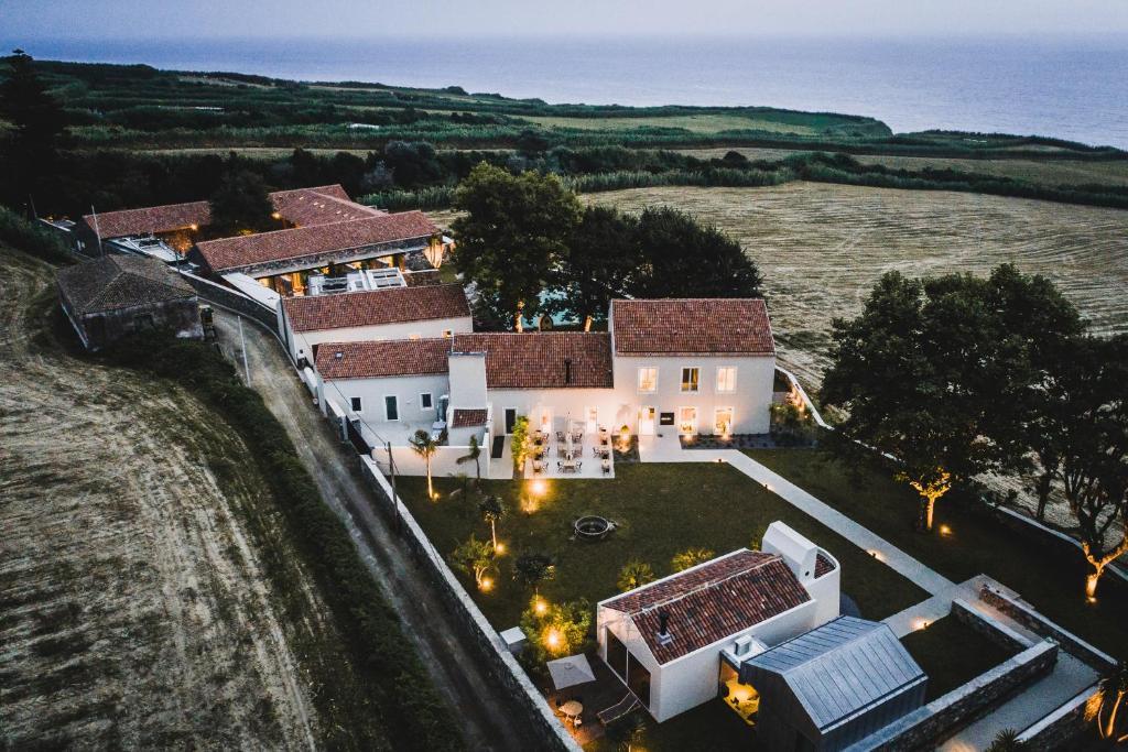 Uma vista aérea de SENSI Azores Nature and SPA