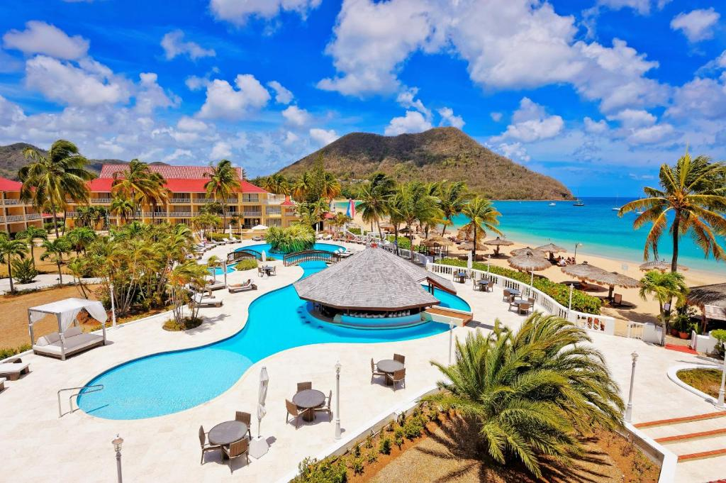 A view of the pool at Mystique St Lucia by Royalton or nearby