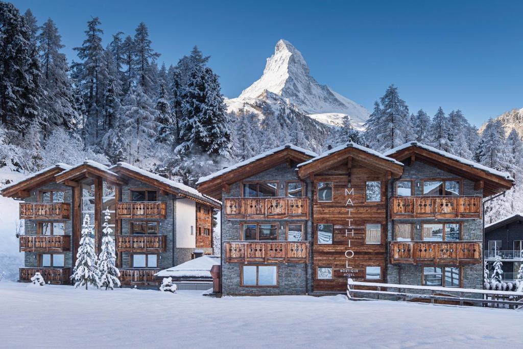 Hotel Matthiol during the winter
