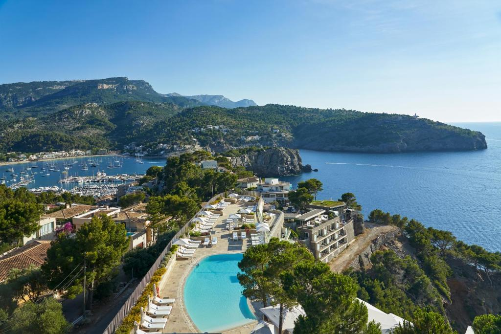 A bird's-eye view of Jumeirah Port Soller Hotel & Spa