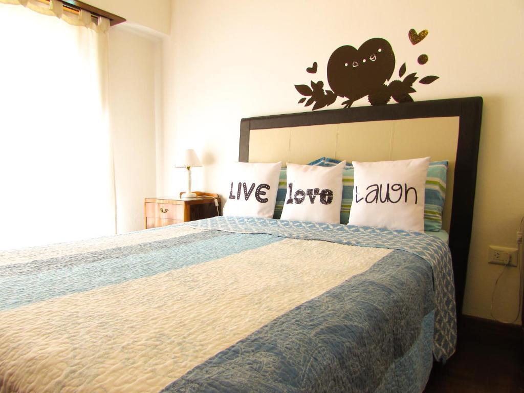 Krevet ili kreveti u jedinici u objektu Casa Buena Vista Tandil