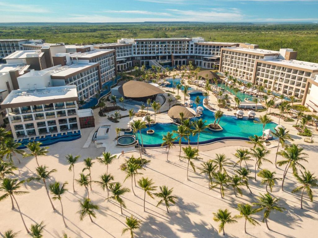 A bird's-eye view of Hyatt Ziva Cap Cana