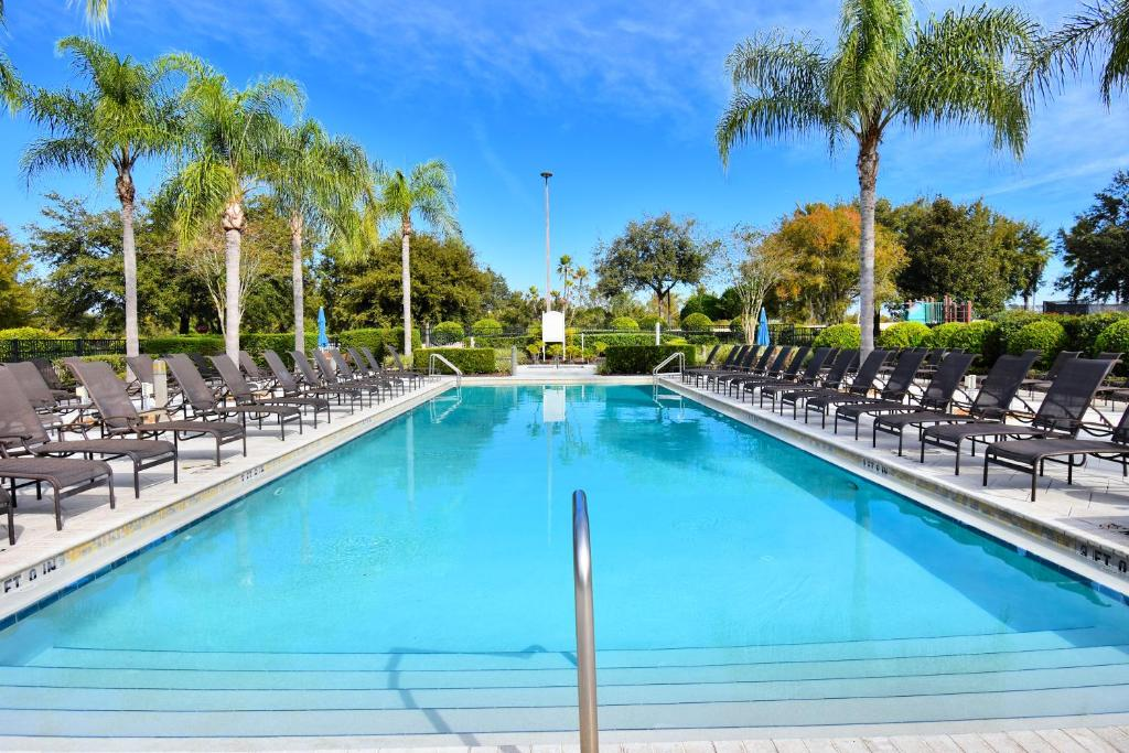 The swimming pool at or close to Reunion by 1791 Vacation Experience