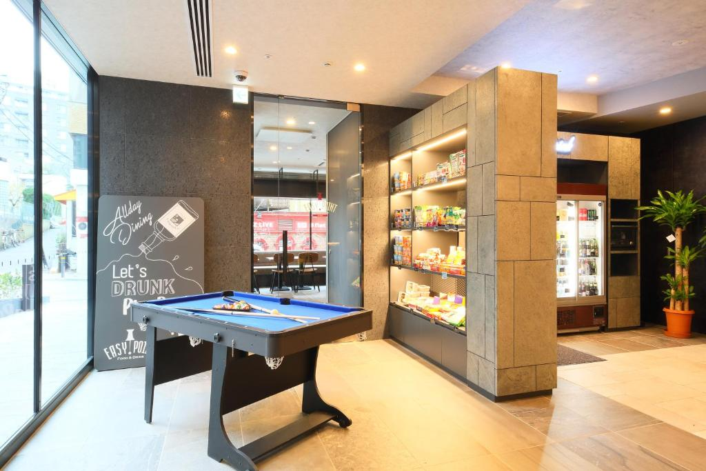 Ping-pong facilities at HOTEL SUI AKASAKA by ABEST or nearby