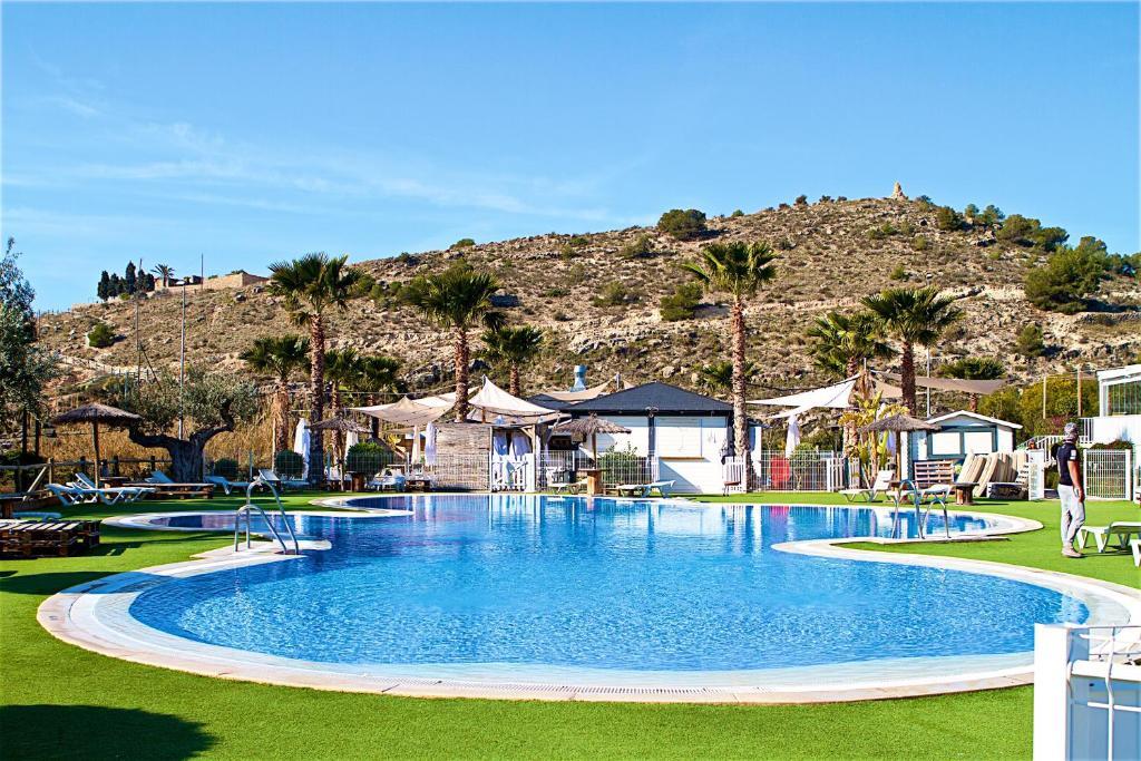 The swimming pool at or near Camping El Torres
