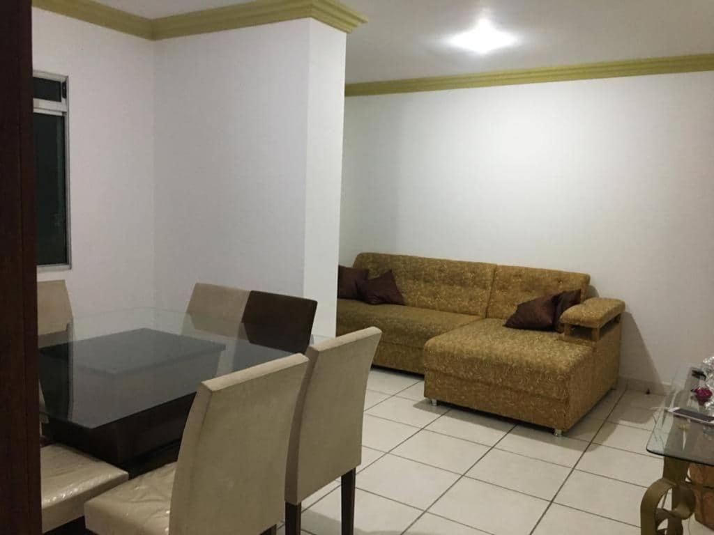 Suíte e Quarto em apartamento familiar, Praia do Morro!