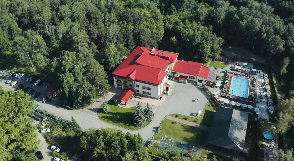 Сосновый Бор, парк-отель с высоты птичьего полета