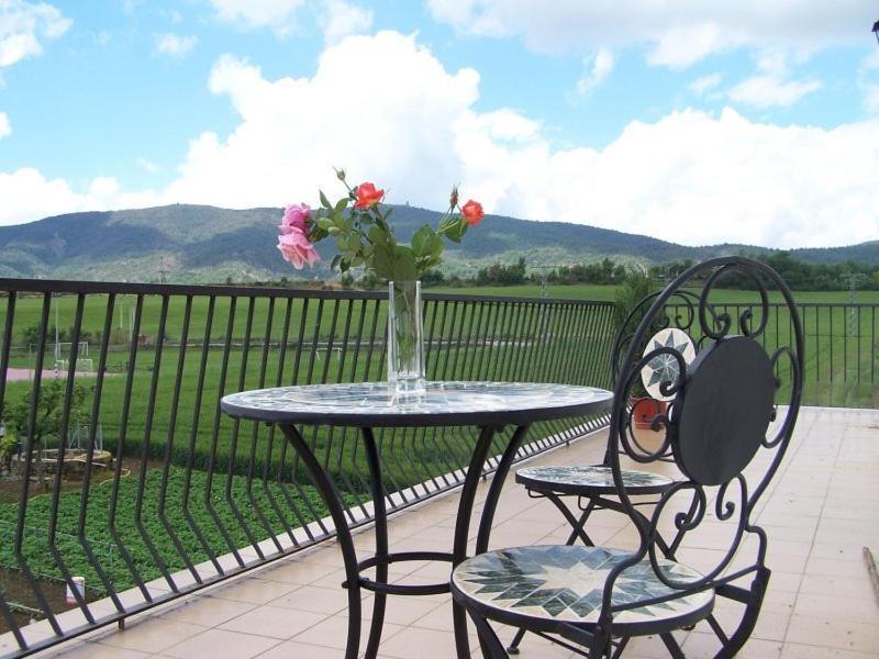 A balcony or terrace at Casa Puyuelo