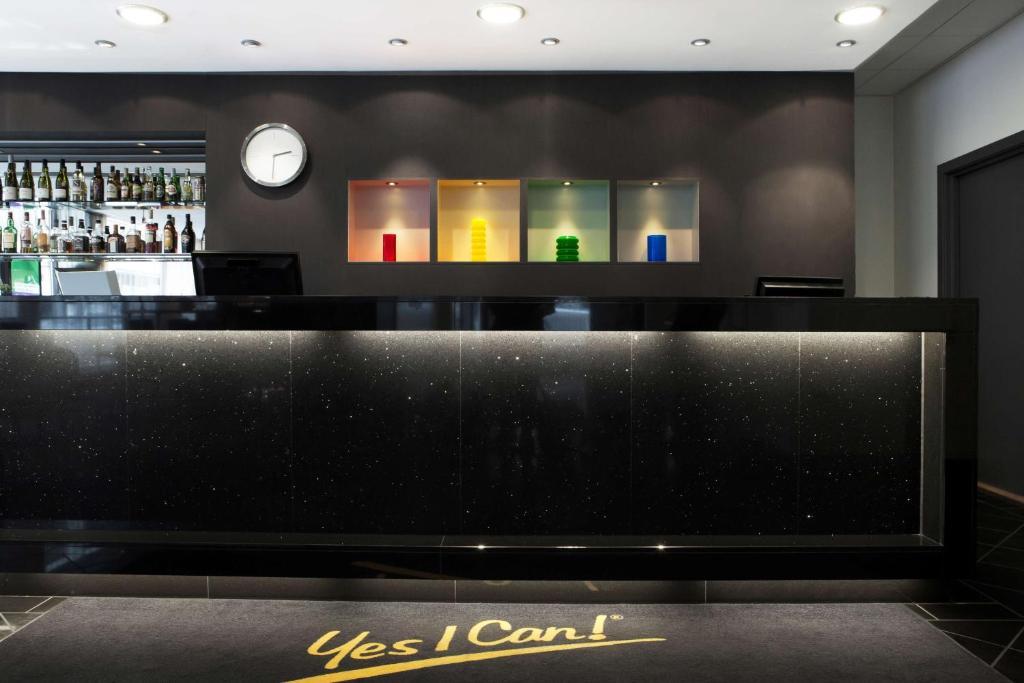 Lobbyn eller receptionsområdet på Park Inn by Radisson Oslo