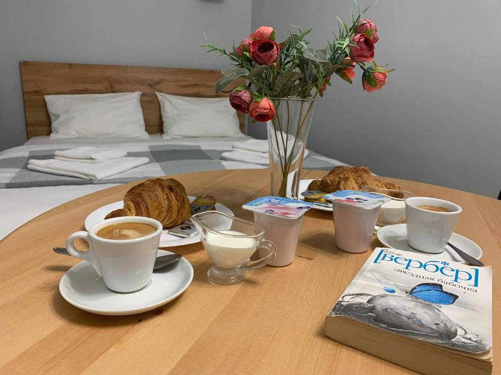 Breakfast options available to guests at Hotel Kazantel