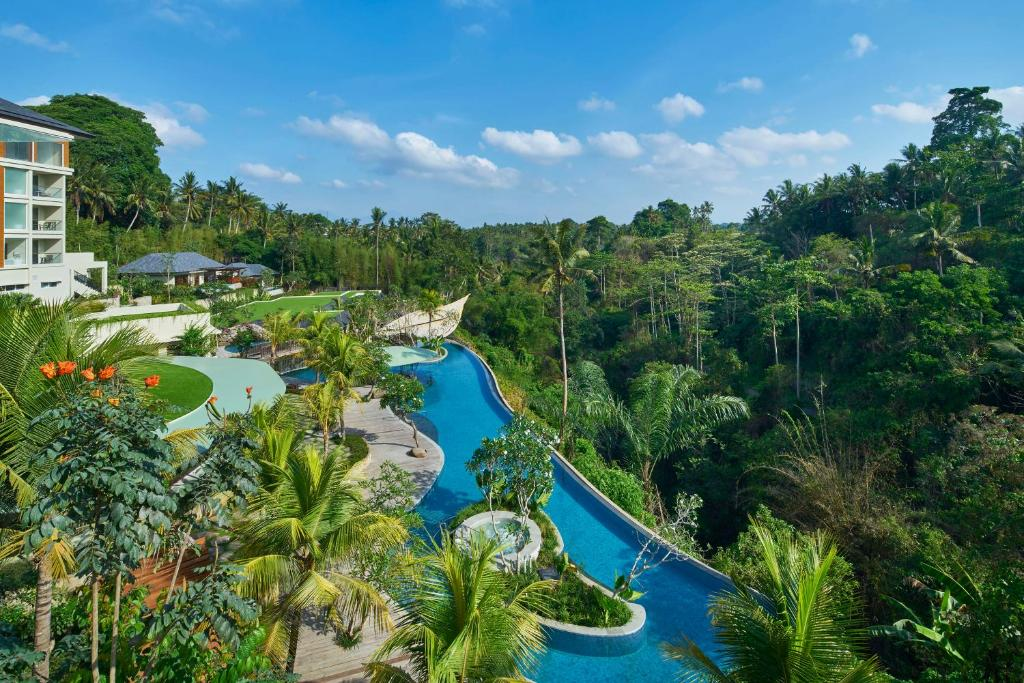 A view of the pool at The Westin Resort & Spa Ubud, Bali or nearby