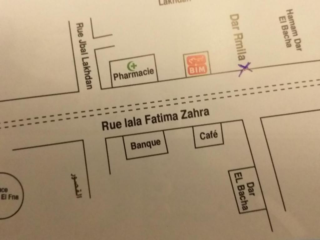 The floor plan of Dar Rmila 4