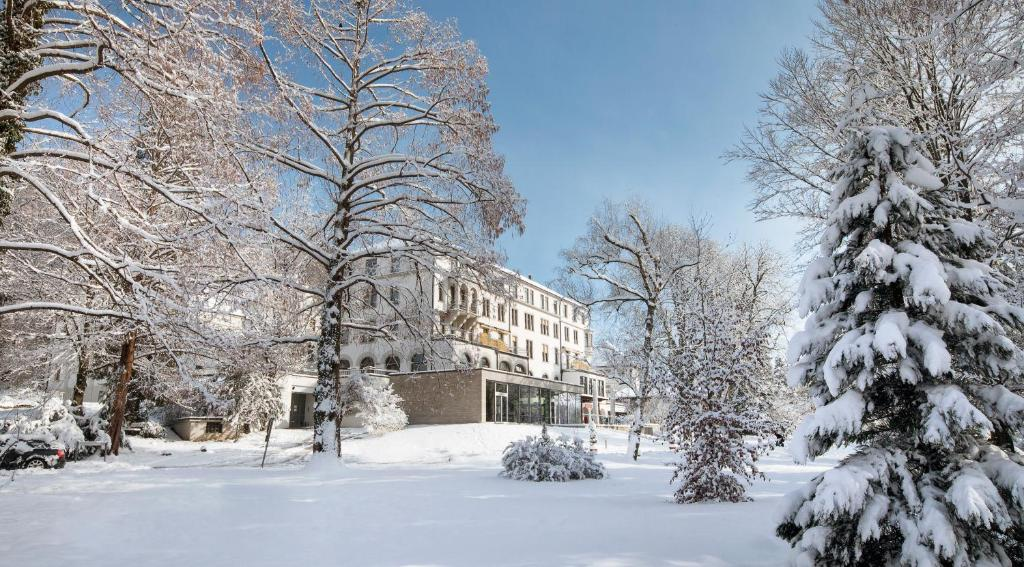 Parkhotel Jordanbad im Winter