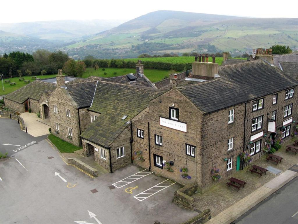 A bird's-eye view of The White Hart at Lydgate