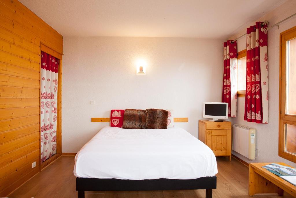 Un ou plusieurs lits dans un hébergement de l'établissement Le Floralp