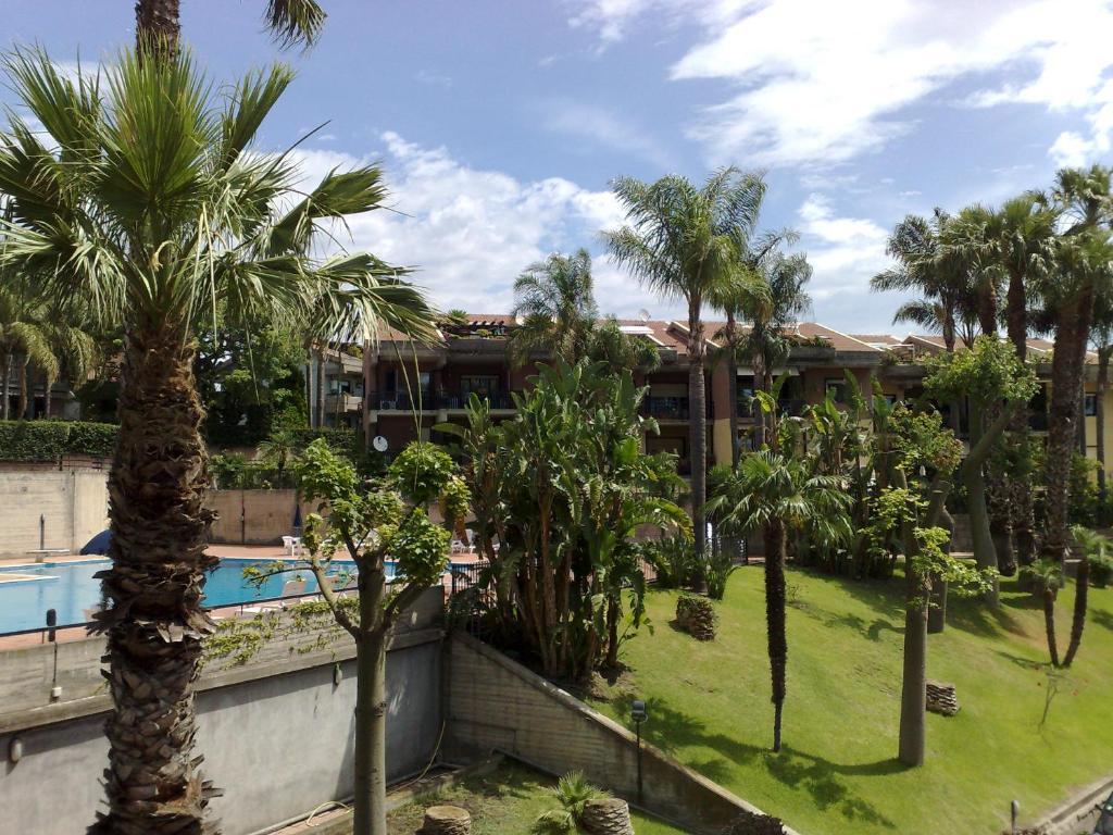 Vista sulla piscina di Porto Ulisse o su una piscina nei dintorni