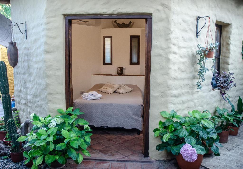 A bathroom at Hostal La Montaña