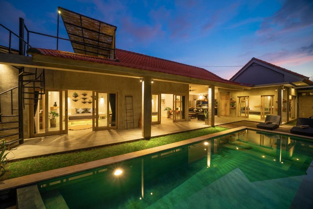 Hidden Gem Jungle View Villa Infinity Heart Of Canggu Canggu Indonesia Booking Com