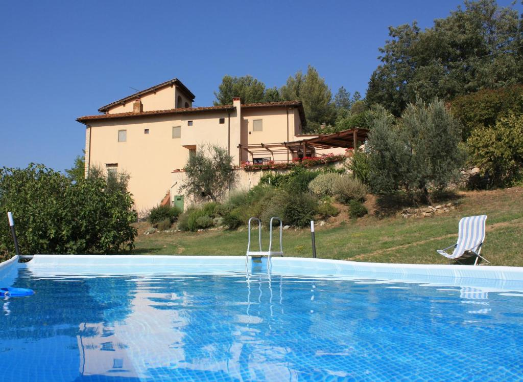The swimming pool at or near B&B Il Torrino di Sotto
