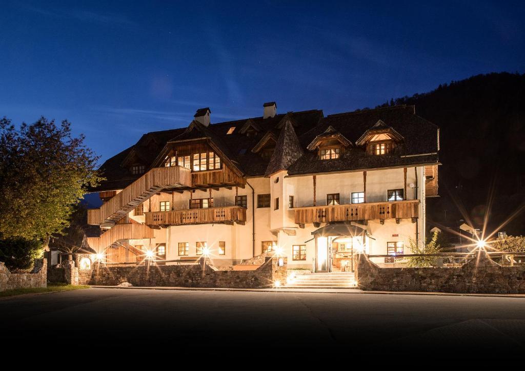 Hotel Edelhof зимой