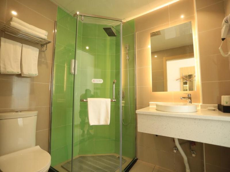 GreenTree Inn Anqing City Yixiu Government District University City Express Hotel