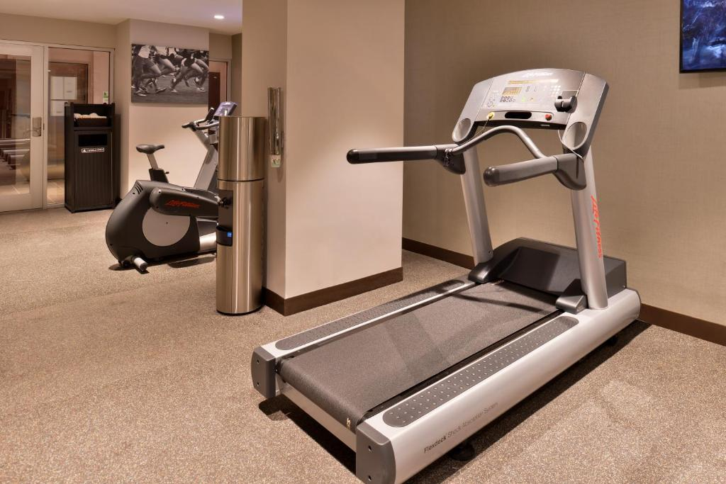 The fitness centre and/or fitness facilities at Holiday Inn New York City - Times Square
