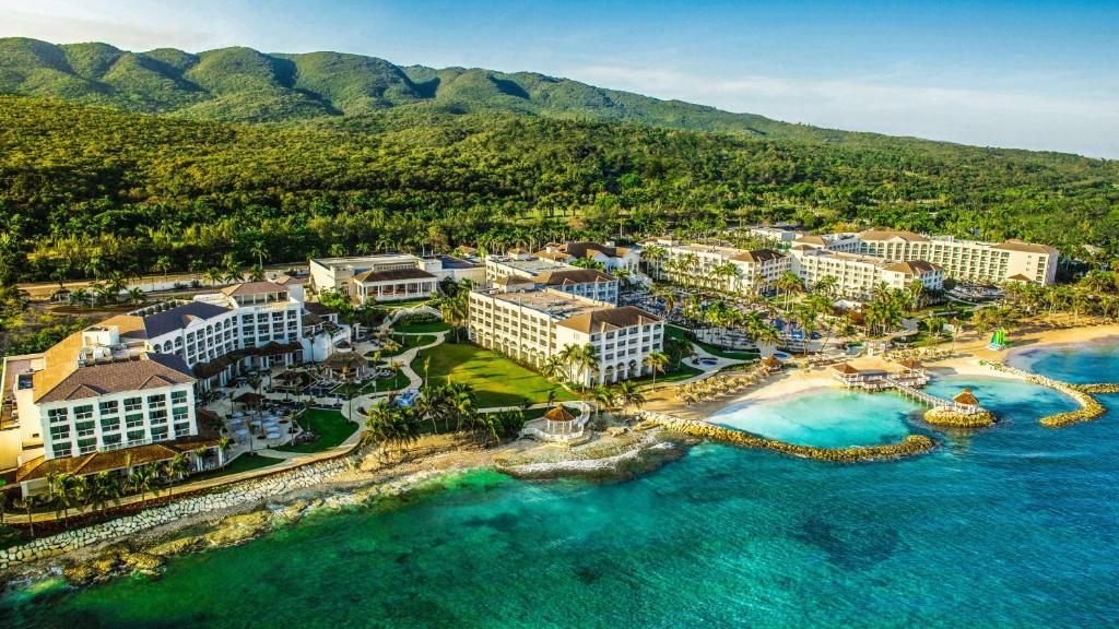 A bird's-eye view of Hyatt Ziva Rose Hall - All Inclusive