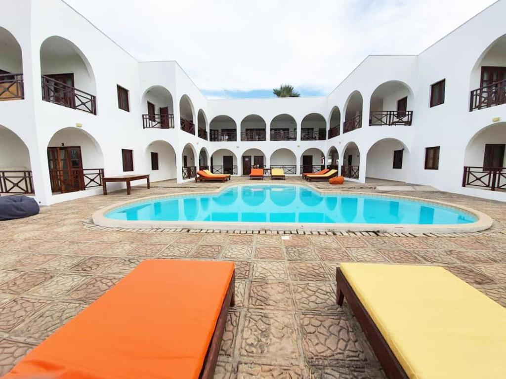 The swimming pool at or close to Harmony Resort Boutique Hotel
