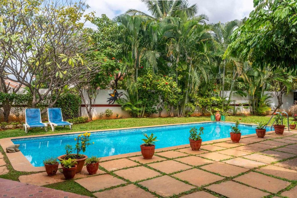 The swimming pool at or close to Firefly Homestay by Vista Rooms