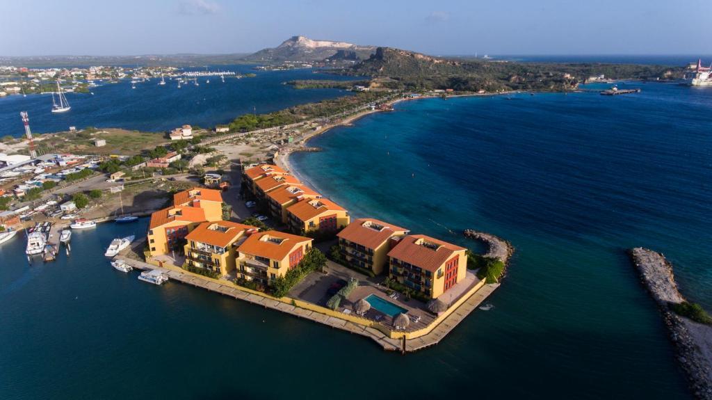 Uma vista aérea de Luxury Apartment Ayla
