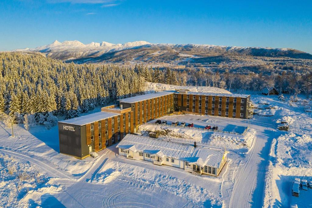 Sure Hotel by Best Western Harstad Narvik Airport during the winter