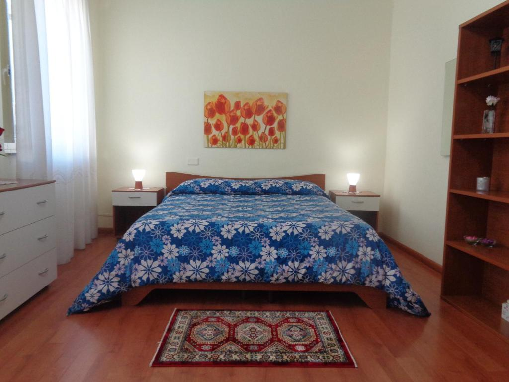 A bed or beds in a room at B&B Don Diego