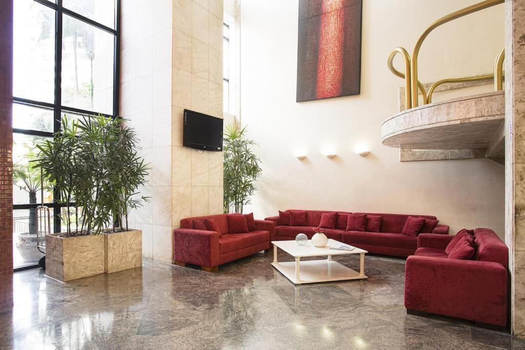 The lobby or reception area at apart hotel sol victoria marina