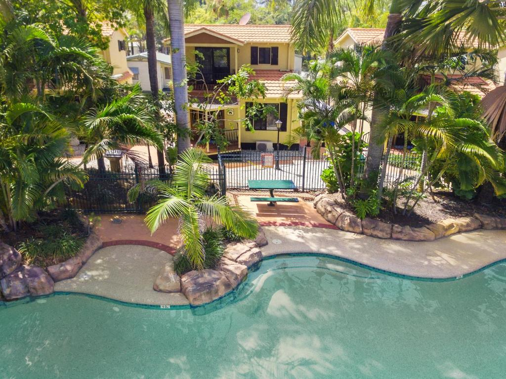 A view of the pool at Ashmore Palms Holiday Village or nearby