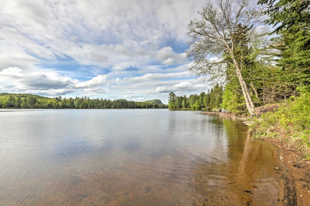 Lakefront Old Forge Home with Private Boat Ramp&Beach