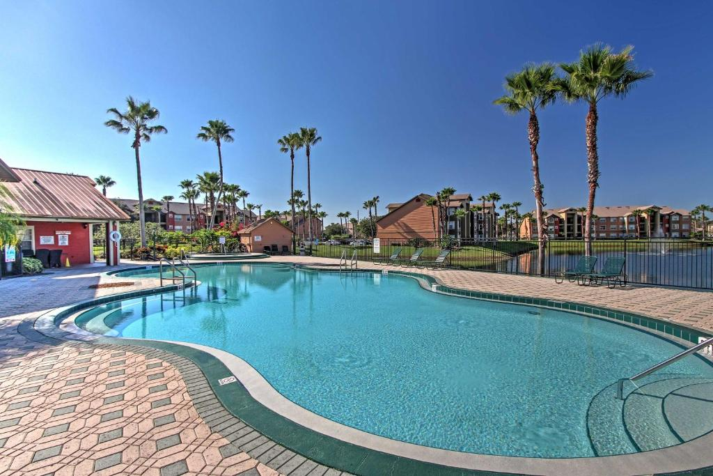 The swimming pool at or close to Pet-Friendly Kissimmee Apartment with Pool Access!