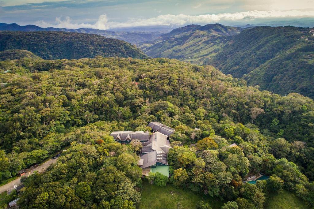 A bird's-eye view of Monteverde Lodge & Gardens