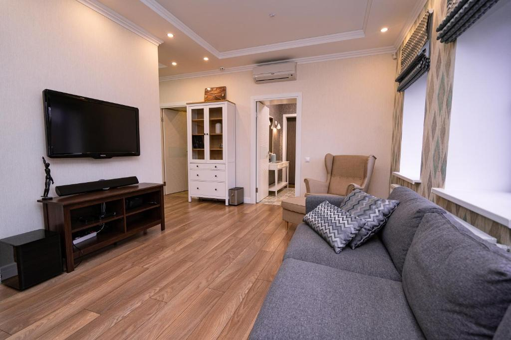 A television and/or entertainment centre at GOODVILL FAMILY House