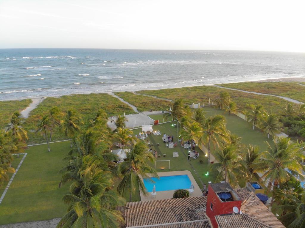A bird's-eye view of Casa Resort