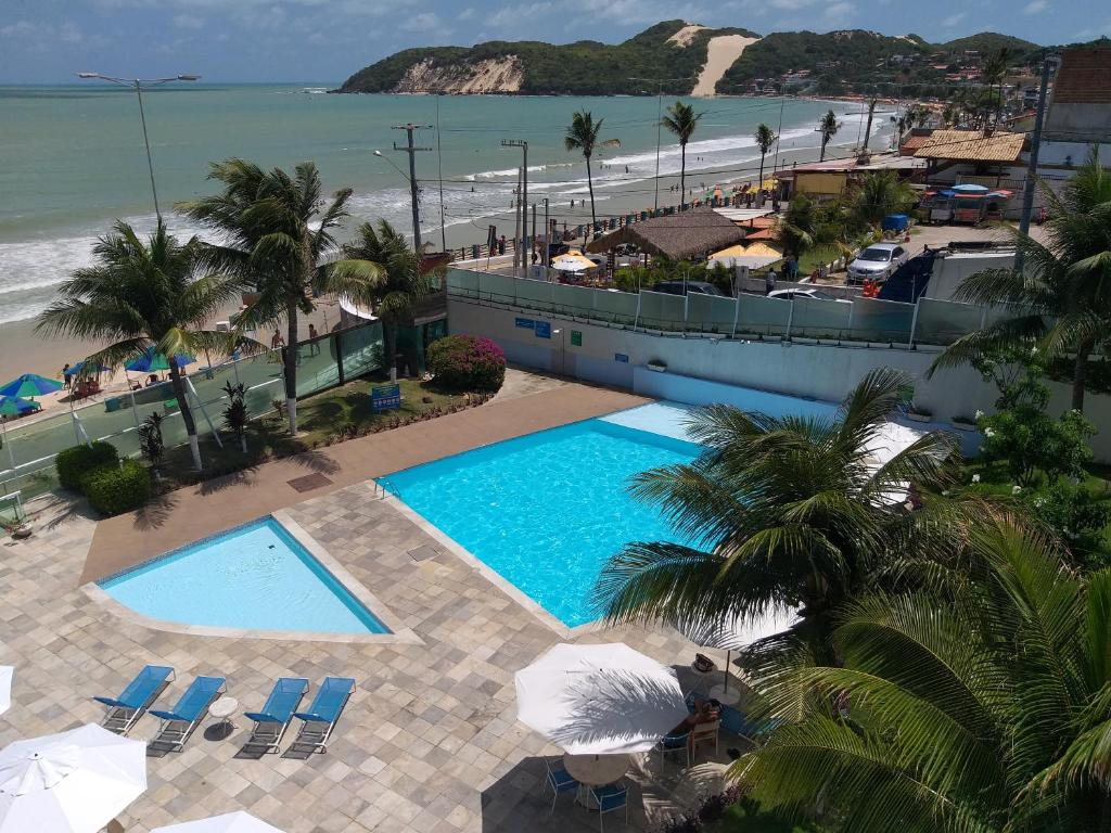 A view of the pool at Pontanegra Beach Harmony Suites or nearby