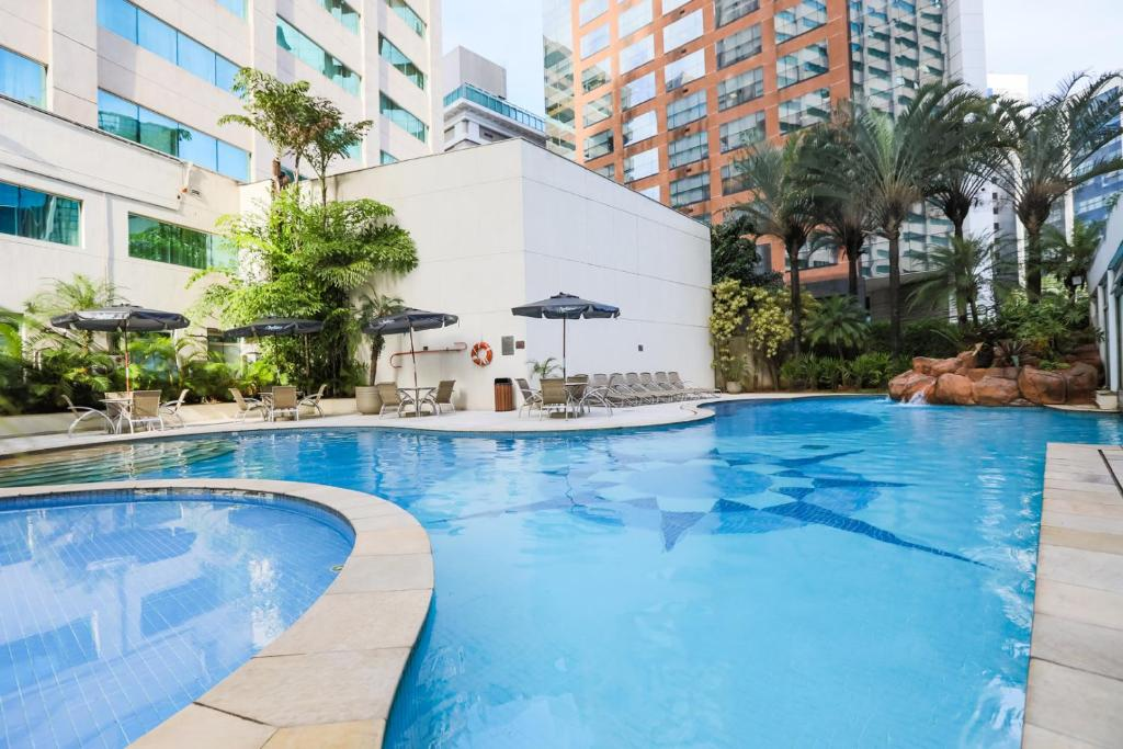 The swimming pool at or near Radisson Vila Olimpia