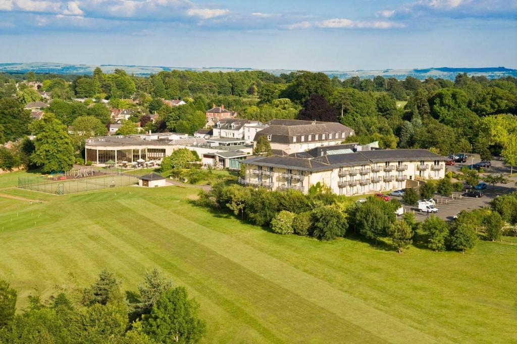 A bird's-eye view of Swindon Blunsdon House Hotel, BW Premier Collection