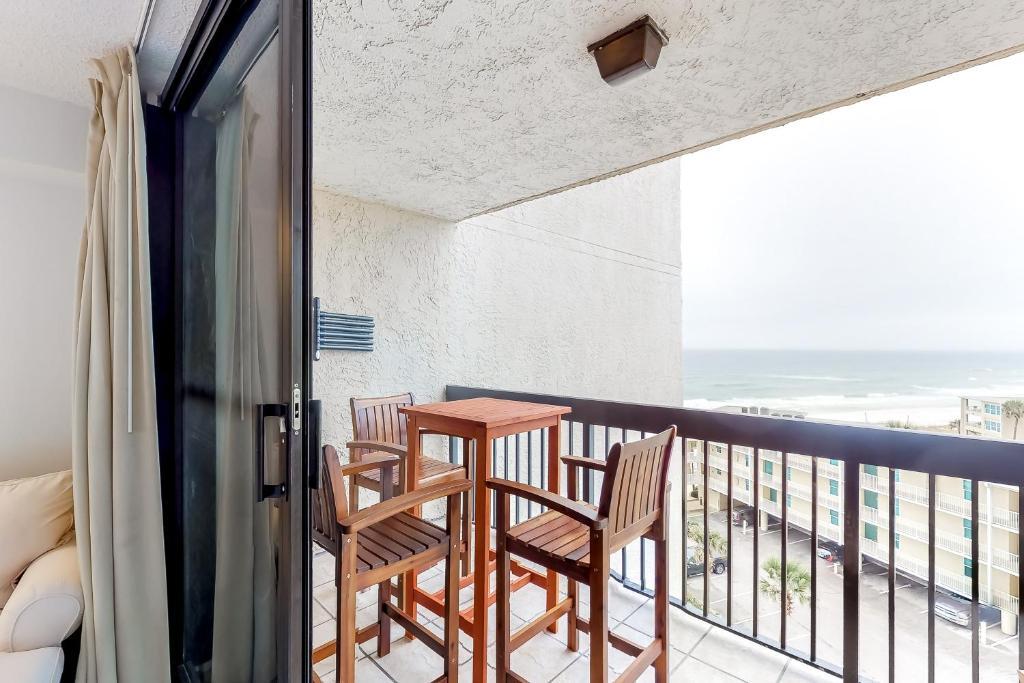 A balcony or terrace at Sundestin Beach Resort #815