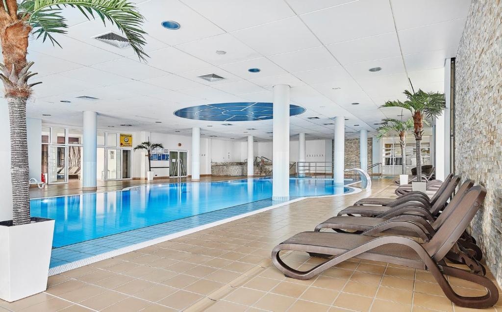 Swimmingpoolen hos eller tæt på Hotel Diva SPA