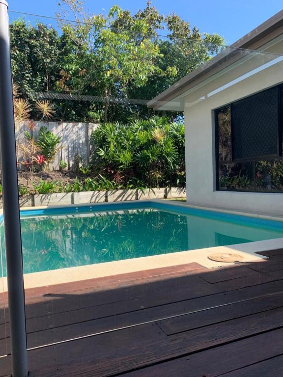The swimming pool at or near Port Douglas Family Escape